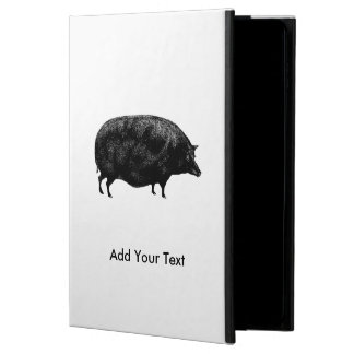 Vintage Pig Antique Print Powis iPad Air 2 Case