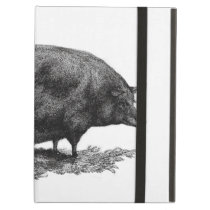 Vintage pig etching case