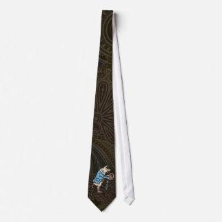 Vintage Pig Wearing Jacket Neck Tie