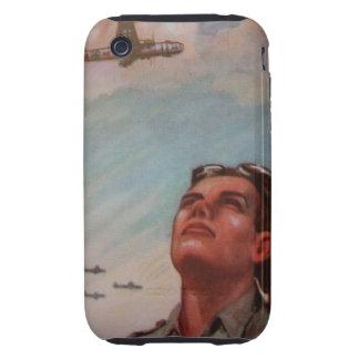 Vintage Pilot iPhone 3G/3GS Case-Mate Tough Tough iPhone 3 Cover