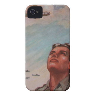 Vintage Pilot iPhone 4/4S Case-Mate Barely There iPhone 4 Case-Mate Cases