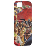 Vintage Pilot, Woman and Airplane with Paparazzi iPhone 5 Cover