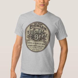 Vintage Pilsner Beer Ad Label Shirt