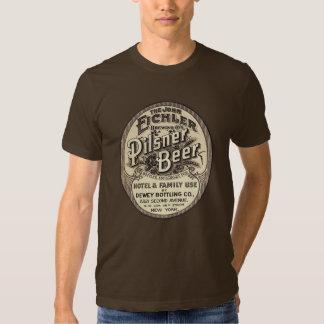 Vintage Pilsner Beer Ad Label T-shirt