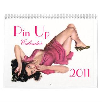 Vintage pin up 2011 calendar:) calendar