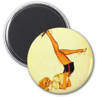 vintage pin up ace magnet