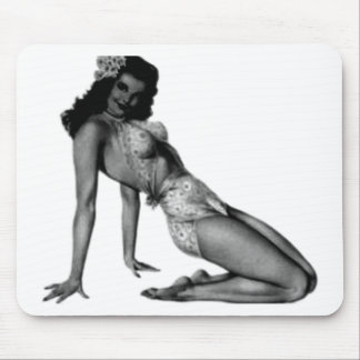 Vintage Pin Up Design! Mouse Pad