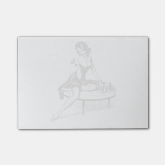 Vintage Pin Up Girl Post-it® Notes