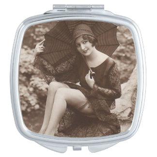 Vintage Pin-up Girl Vanity Mirror
