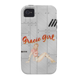 Vintage Pin Up iPhone 4 Covers