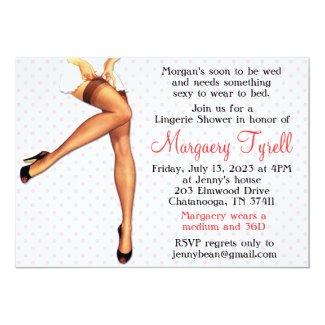 shop lingerie bridal shower invitations at zazzle