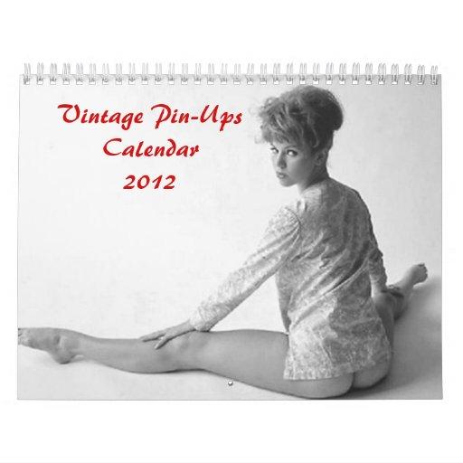 Pin Up Calendar Vintage : Vintage pin ups calendar zazzle