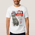 Vintage Pinball Ad 9 Sisters Shirt