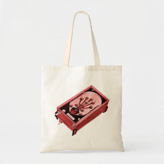 Vintage Pinball Machine One-Shot Tote Bag