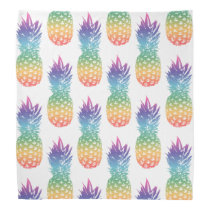 Vintage pineapple pattern bandana