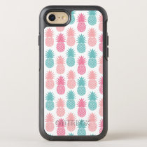 Vintage Pineapple Pattern OtterBox Symmetry iPhone 8/7 Case