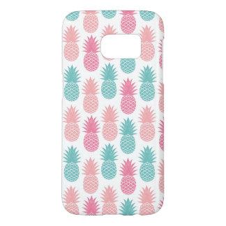 Vintage Pineapple Pattern Samsung Galaxy S7 Case