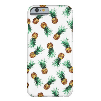 Vintage Pineapples iPhone cases Barely There iPhone 6 Case