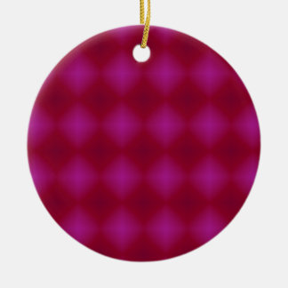 vintage pink and red ornament