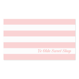 Vintage Pink and White Style - Business Card