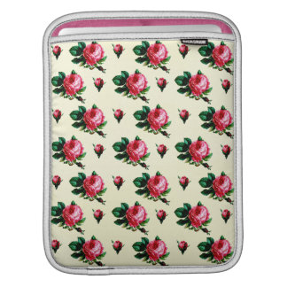 Vintage Pink Cabbage Roses Sleeve For iPads