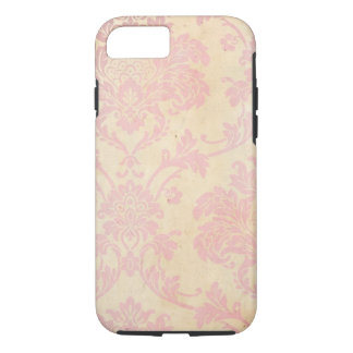 Vintage Pink Damask iPhone 8/7 Case
