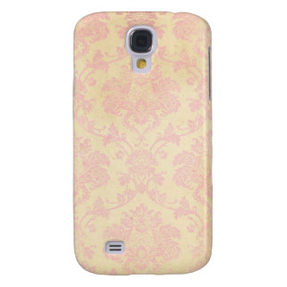 Vintage Pink Damask Samsung S4 Case