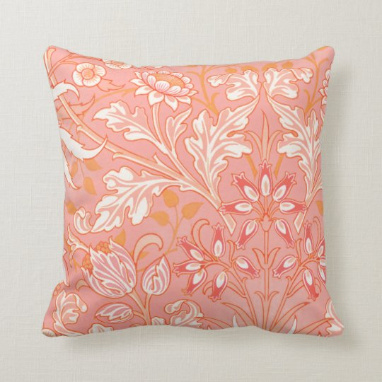 Vintage Pink Floral American MoJo Pillows