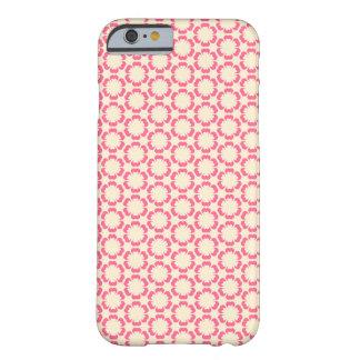 Vintage Pink Floral Design iPhone 6 case