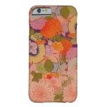 Vintage Pink Floral Kimono Flower Pattern iPhone 6 Case