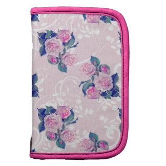 Vintage Pink Floral Pattern Organizer