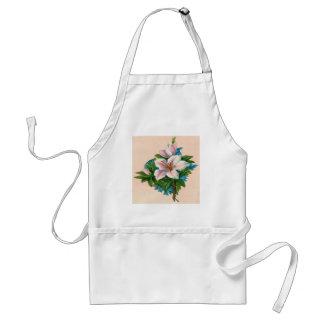 Vintage Pink Flowers, Grandmother Birthday Adult Apron