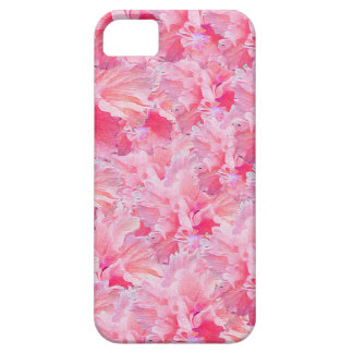 Vintage Pink Flowers iPhone SE/5/5s Case