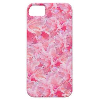 Vintage Pink Flowers iPhone SE/5/5s Case