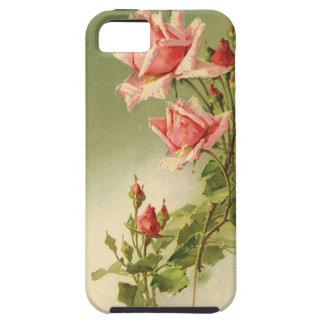 Vintage Pink Garden Roses for Valentine's Day iPhone SE/5/5s Case