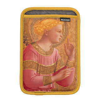 Vintage Pink Golden Christian Angel Sleeve For iPad Mini