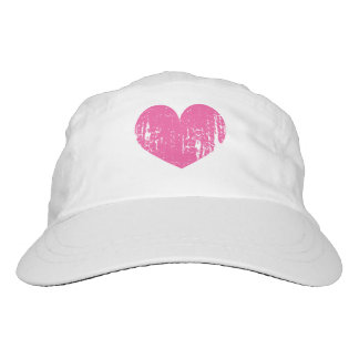 Vintage Pink heart Hat for women and girls