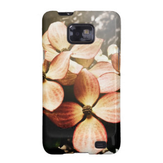 Vintage Pink Kousa Dogwood Flower Blossom Galaxy S2 Cover