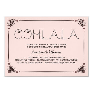 Lingerie party invitations announcements zazzle for Lingerie invitations