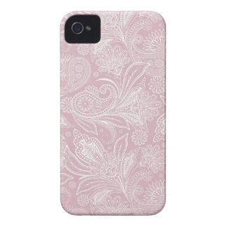 Vintage Pink Paisley Case-Mate iPhone 4 Case