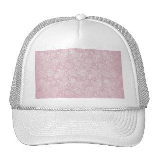 Vintage Pink Paisley Trucker Hat