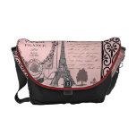 Vintage Pink Paris Collage bag