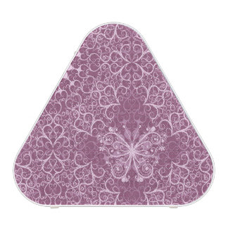 Vintage Pink Pattern Speaker