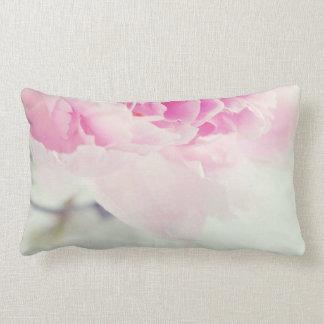 Vintage Pink Peony Mason Jar Lumbar Pillow
