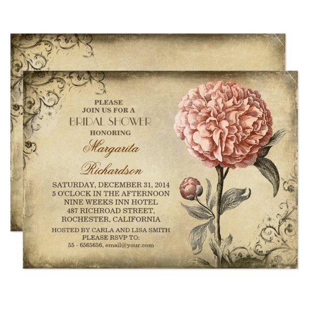 Vintage Bridal Shower Invitations, 2800+ Vintage Bridal Shower ...