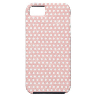 Vintage Pink Polka Dot Pattern iPhone 5 Covers