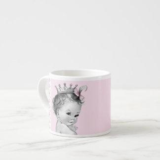 Vintage Pink Princess Baby Cups