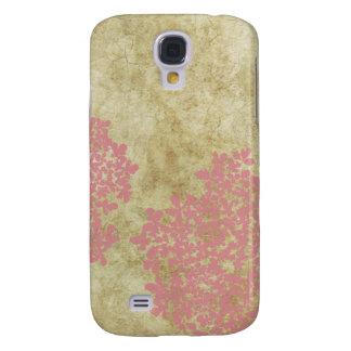 Vintage Pink Queen Ann's Lace Samsung S4 Case