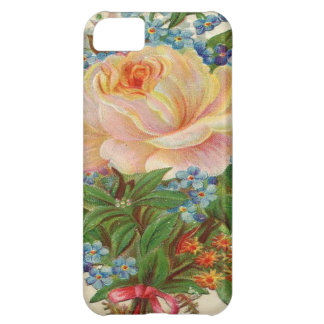Vintage Pink Rose, Happy Birthday Mother iPhone 5C Covers