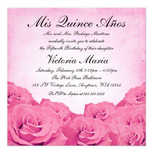 234+ Mis Quince Anos Invitations, Mis Quince Anos Announcements & Invites | Zazzle